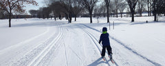 Sizing cross country ski equipment for kids