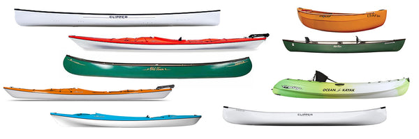canoes and kayaks profiles