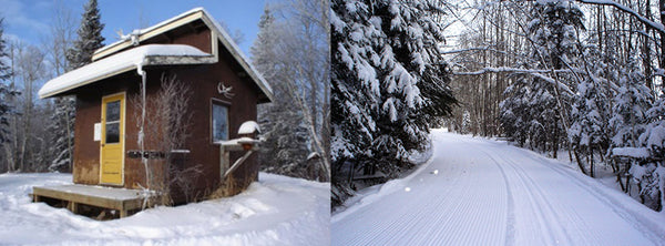 Duck Mountain ski trails and hut