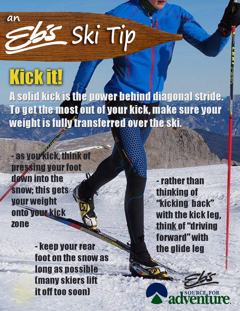 Ebs ski tip kick it