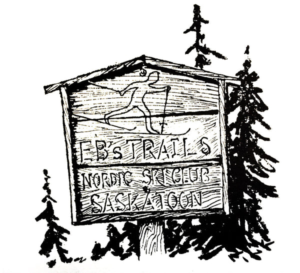 Eb's Trails sign