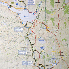 Go Trekker map Prince Albert National Park