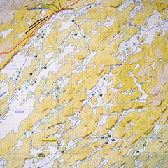Go Trekker map McLennan Lake area