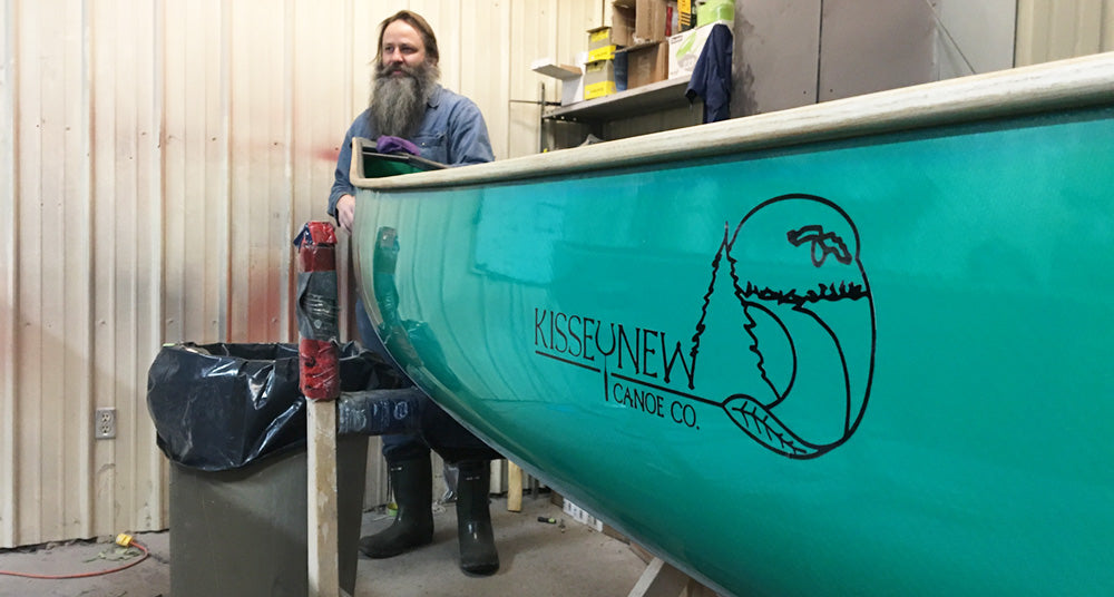 Kisseynew Canoe teal colour