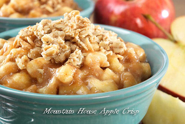Mountain House apple crisp