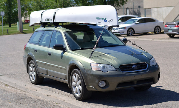 Look Like A Pro How To Tie A Canoe Onto Your Car