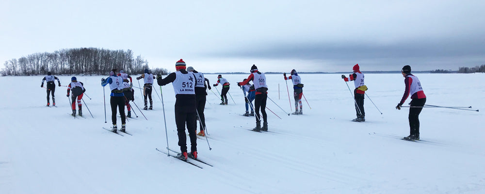 Saskaloppet cross country ski racers
