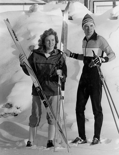 1970's cross country skiers