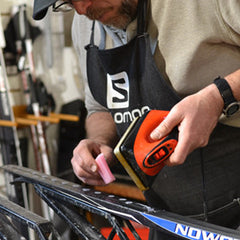 How to apply storage wax to your cross country skis