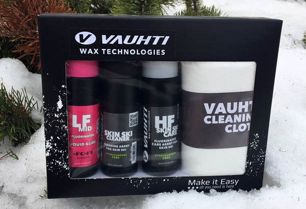 Vauhti Skin Care kit
