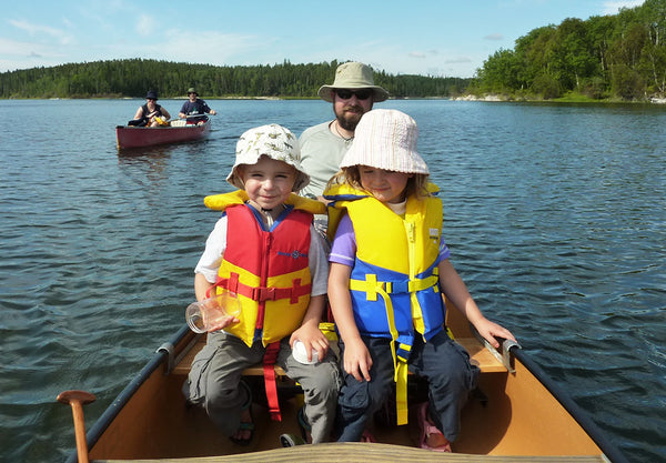 Canoe tripping with kids | what doesn't kill you makes you stronger