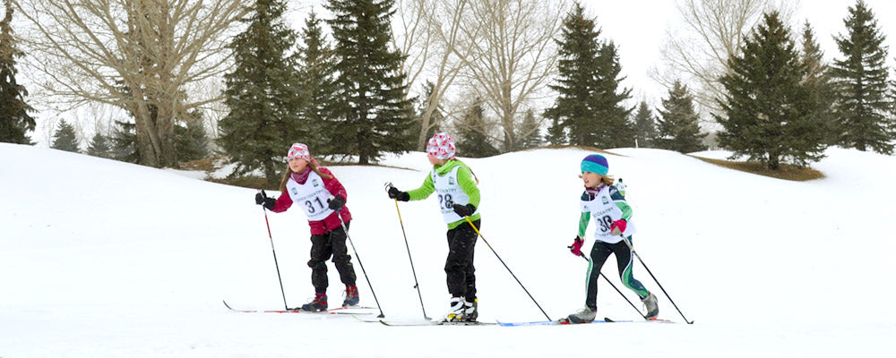 kids cross country skiing in saskatoon