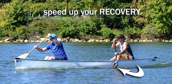 speed up recovery paddling technique