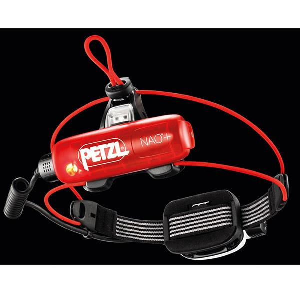 Petzl Nao+ red light indicator