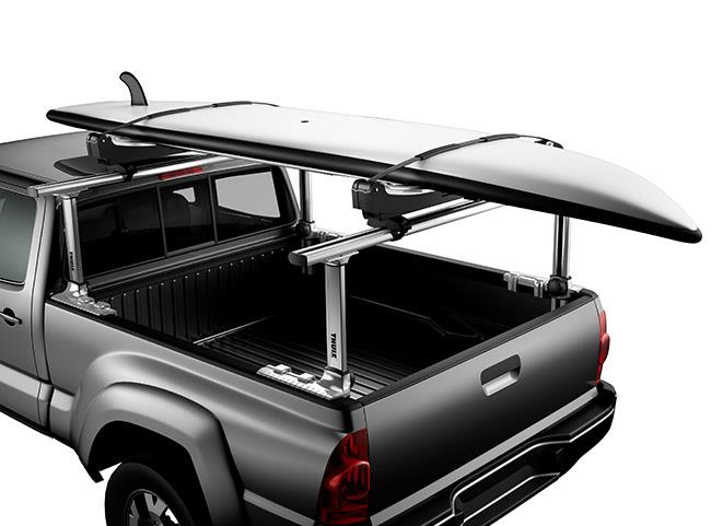 11002 Thule Truck Bed Rack Xsporter Pro 500XT (in used; carrying SUP)