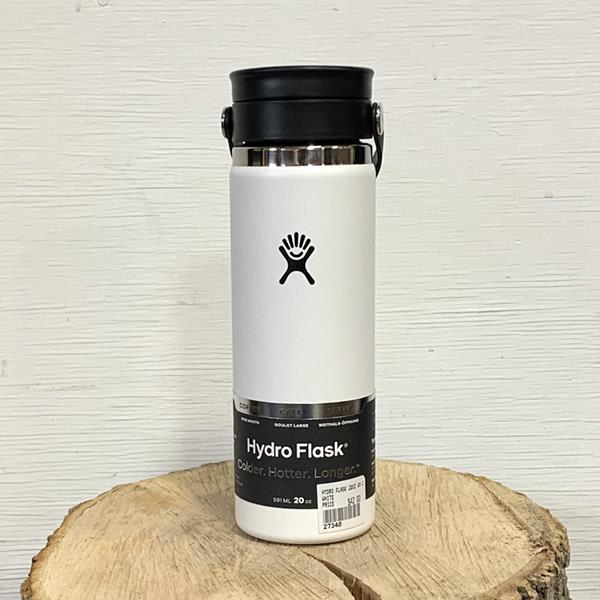 Hydro Flask 20 oz coffee white