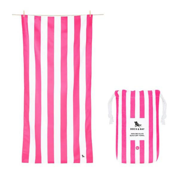 Dock and Bay Cabana Towel purple
