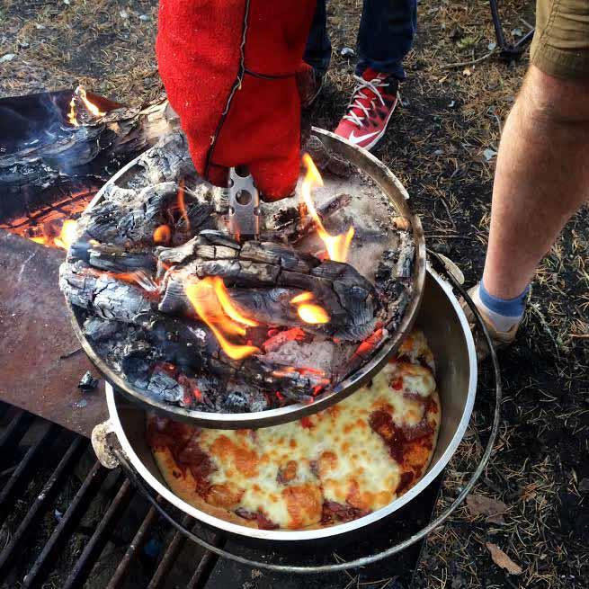 GSI Dutch oven cooking