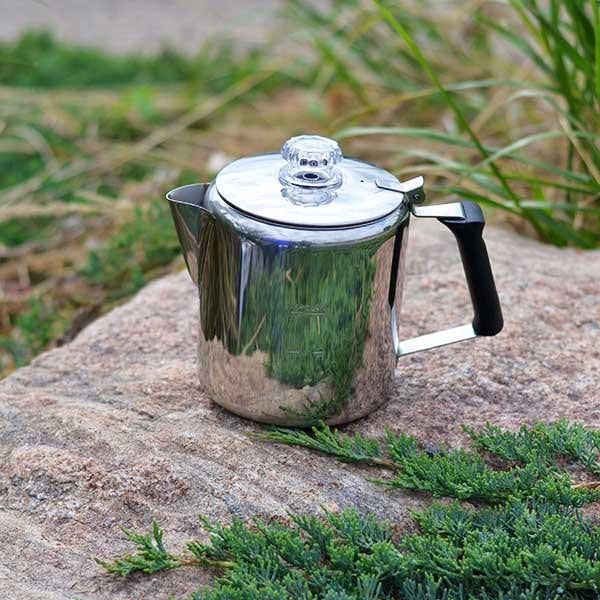 GSI Coffee Percolator stainless steel 6 cup