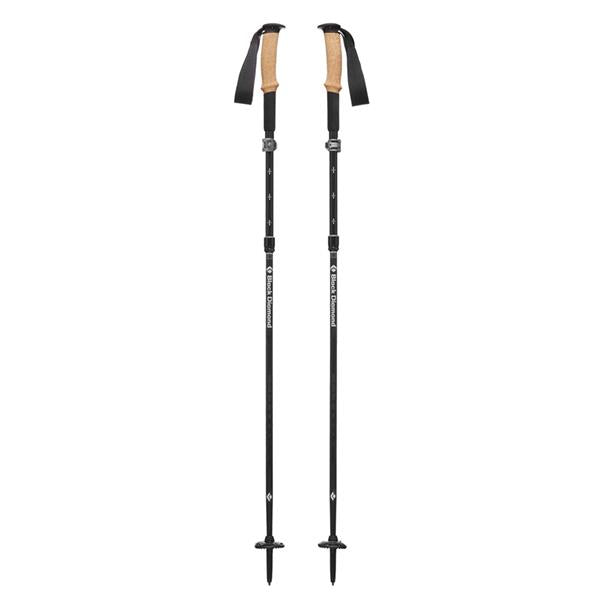 Black Diamond Alpine FLZ trekking poles assembled