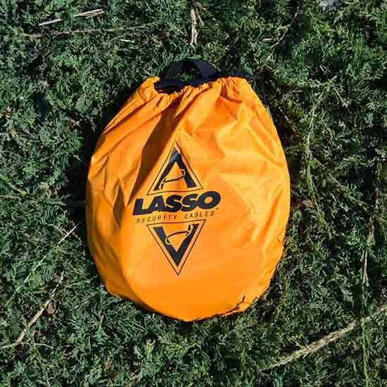 13072 Lasso Locking Cable Kong (for Touring Kayaks -- in stuff sack)
