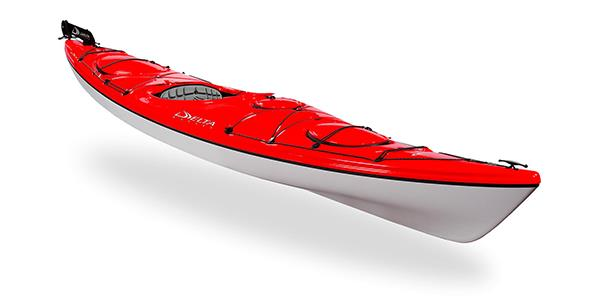 Delta 14 rudder red