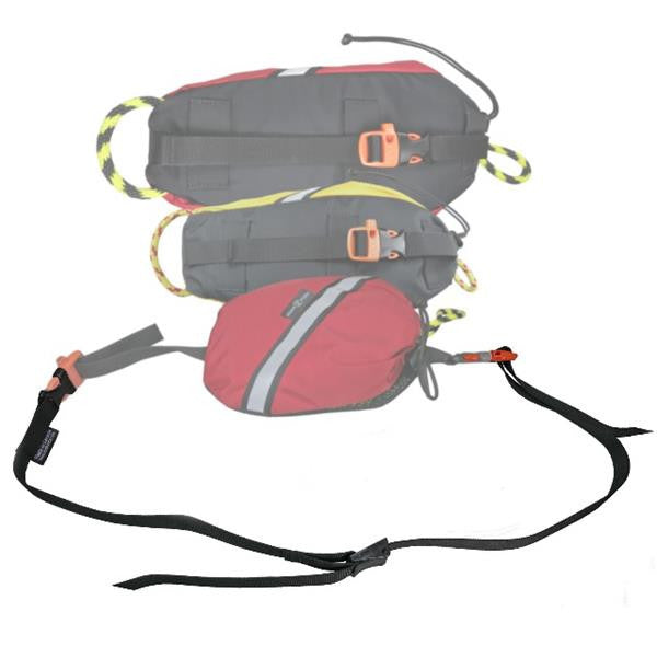 Northwater Quick-Clip Waist Belt with throw bag