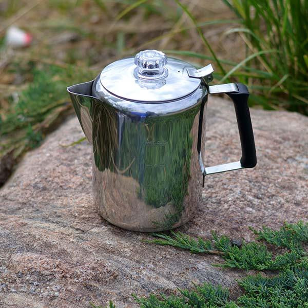 GSI Coffee Percolator stainless steel 9 cup
