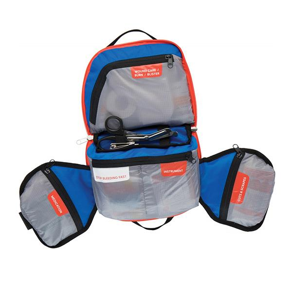 AMK First Aid Kit mountain explorer organized pouches