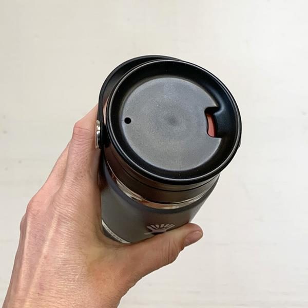 Hydro Flask sip lid closed