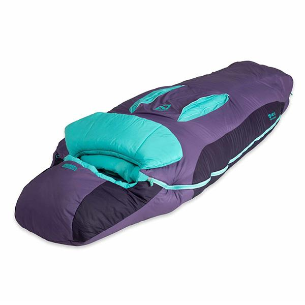 Nemo Forte 20 women's sleeping bag angle view