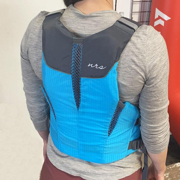 NRS PFD Nora teal back view
