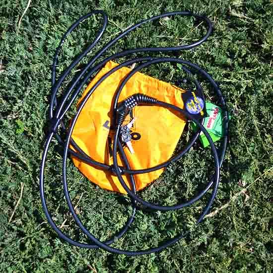 13072 Lasso Locking Cable Kong (for Touring Kayaks -- out of package)