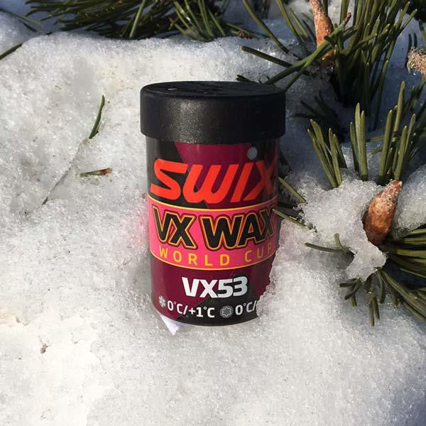Swix High Fluoro VX53 grip wax