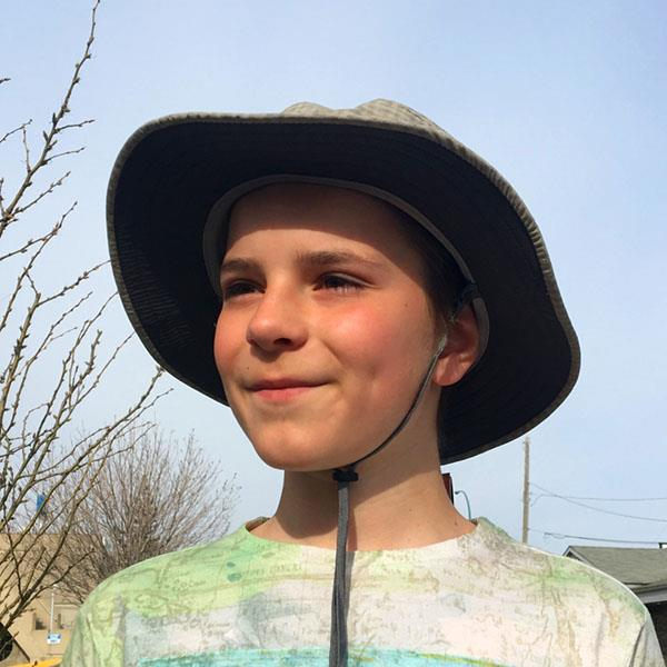 Outdoor Research Kids Helios Sun Hat sandstone