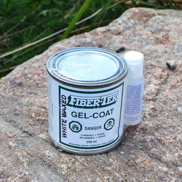 Fiber-Tek waxed gelcoat white 250ml