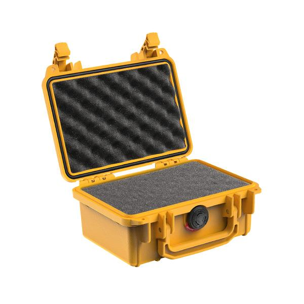 Pelican Case 1300 yellow open