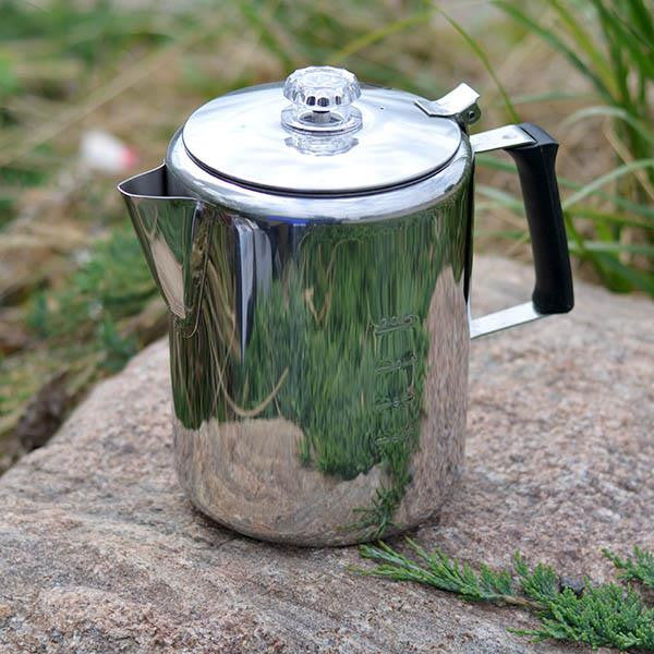 GSI Coffee Percolator stainless steel 12 cup