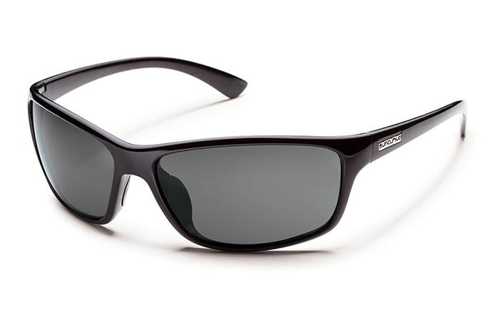 Suncloud Sentry sunglasses black frame gray lens