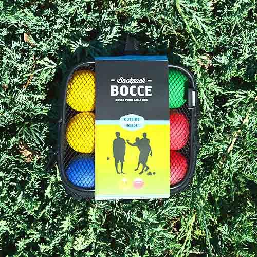 Outside Inside Gifts Backpack Bocce