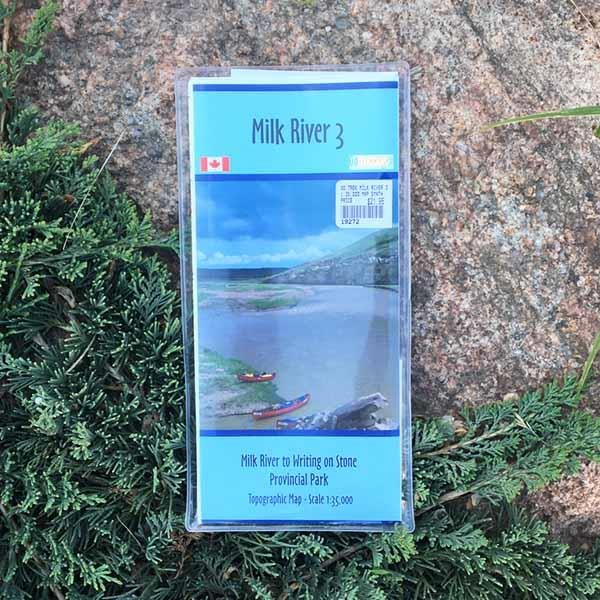 Go Trekker Map Milk River 3