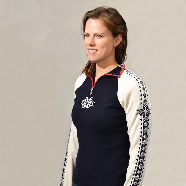 Dale of Norway Geilo Sweater women model