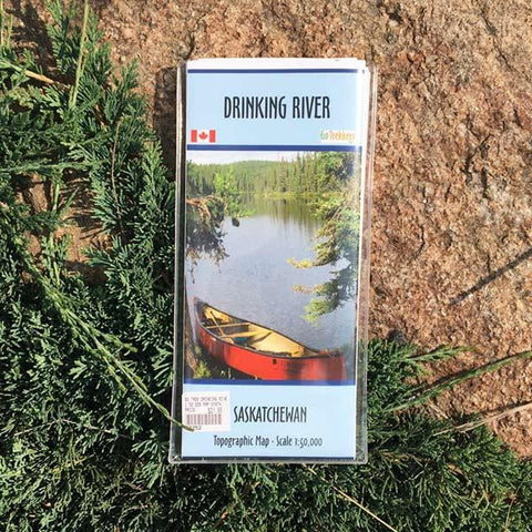 Go Trekker Map Drinking River (synthetic)