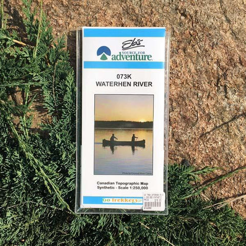 Go Trekker Map Waterhen River (synthetic)