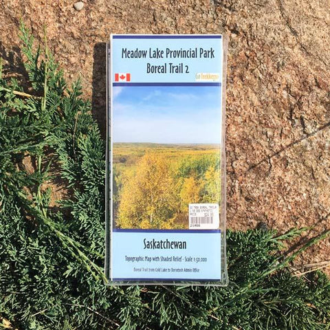 Go Trekker Map Boreal Trail 2 (synthetic)