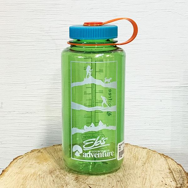Eb's Nalgene bottle blue