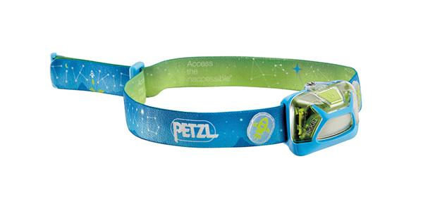 Petzl Tikkid blue headlamp