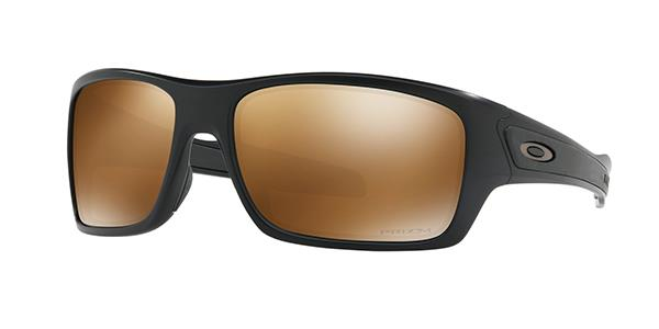 Oakley Turbine matte black prizm tungsten polarized