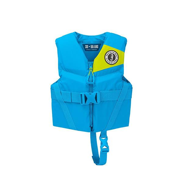 Mustang REV Child Vest blue