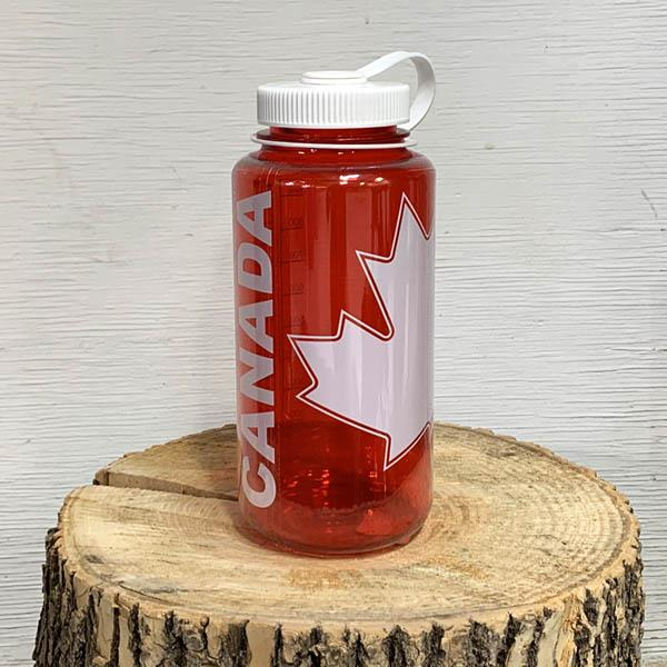 Nalgene Tritan bottle canada red
